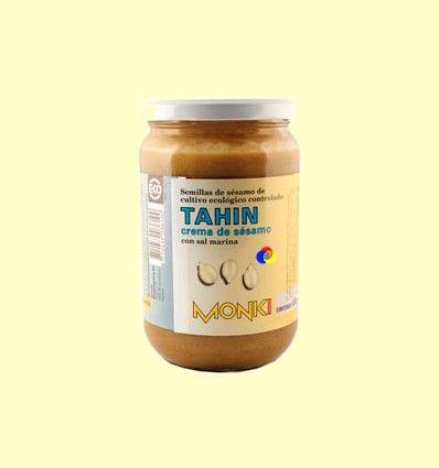 Tahin Bio con Sal Marina - Monki - 650 gramos *