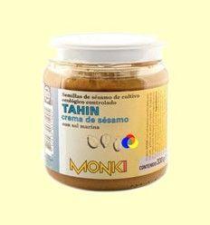 Tahin Bio con Sal Marina - Monki - 330 gramos