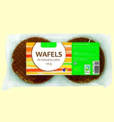 Wafels de manzana y pera Bio - BioSpirit - 175 gramos *