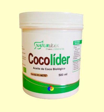 Cocolíder - Aceite de coco bio - Naturlíder - 500 ml *