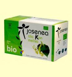 Tila Kon Melisa Infusión ecológica - Sistema nervioso - Josenea - 20 filtros