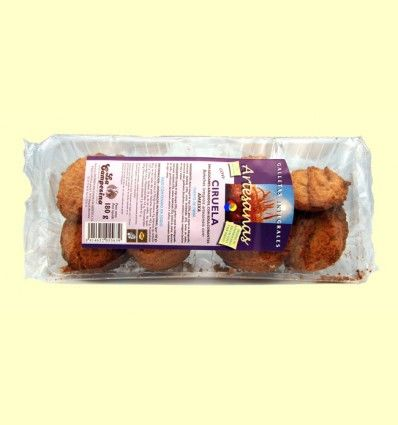 Galletas artesanas - Ciruela - La Campesina - 180 gramos