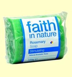 Jabón Artesanal de Romero - Faith in Nature - 100 gramos