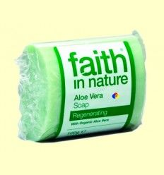 Jabón Artesanal de Aloe Vera - Faith in Nature - 100 gramos