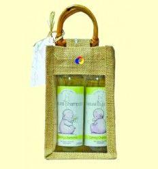 Set Bebé Manzanilla con bolsa de Yute - Faith in Nature