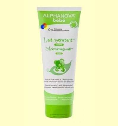 Leche Hidratante Corporal Bebé Ecológica - Alphanova Bebé - 250 ml