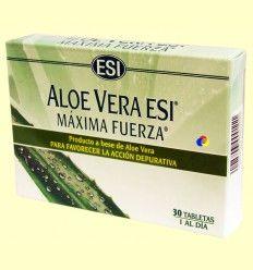 Aloe Vera Esi - Máxima fuerza - Laboratorios Esi - 30 tabletas