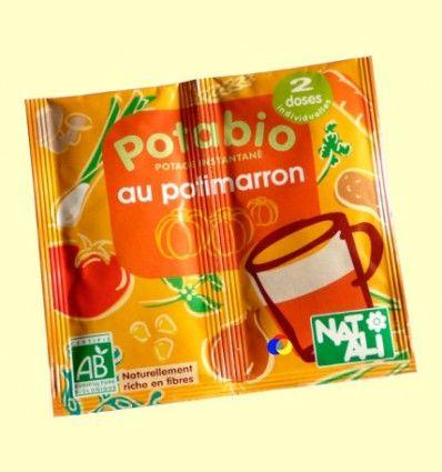 Potabio Calabaza con Castañas - Caldos y potajes - Nat Ali - 2 x 8,5 gramos