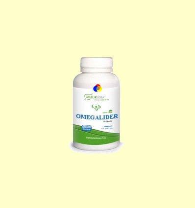 Omegalider 3 - Naturlider - 120 perlas