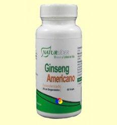 Ginseng Americano Estandarizado - Naturlider - 60 cápsulas