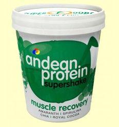 Andean Protein ECO Tarrina - Quinoa, Amaranto, Espirulina, Cacao - Energy Fruits - 250 gramos