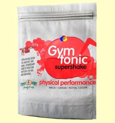 Gym Tonic ECO - Maca, Mesquite, Algarroba, Cacao, Estevia - Energy Feelings - 150 gramos