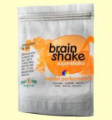 Brain Shake Eco - Lúcuma, Maca, Mesquite, Algarroba, Cacao - Energy Feelings - 150 gramos