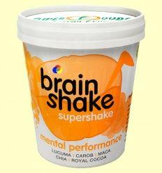 Brain Shake ECO - Lúcuma, Maca, Mesquite, Algarroba, Cacao - Energy Fruits - 250 gramos