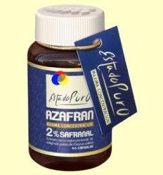 Azafrán 2% Safranal Estado Puro - Tongil - 40 cápsulas