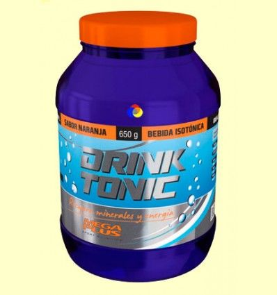 Drink Tonic - Bebida Isotónica - Sabor Naranja - Mega Plus - 650 gramos *