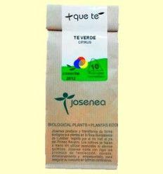 Té Verde Citrus - Josenea infusiones ecológicas - 10 infusiones pirámides