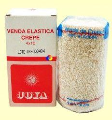Venda Elástica Crepé 4 x 10 - JOYA - 1 unidad
