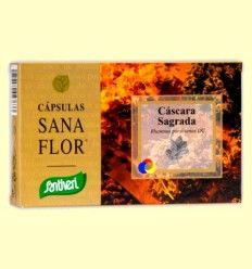 Cascara Sagrada - Santiveri - 60 cápsulas