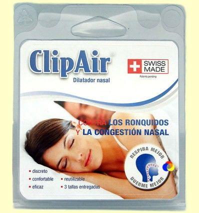ClipAir - Dilatador Nasal - 3 tallas *