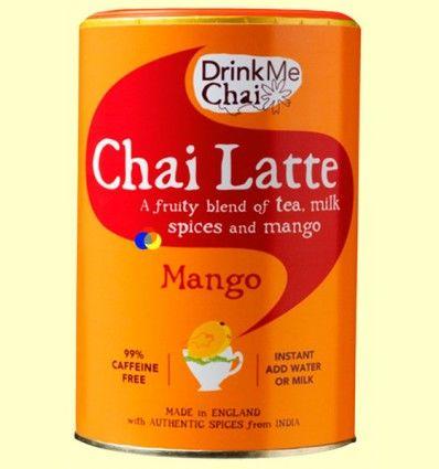 Chai Mango Soluble - Drink Me Chai - 250 gramos