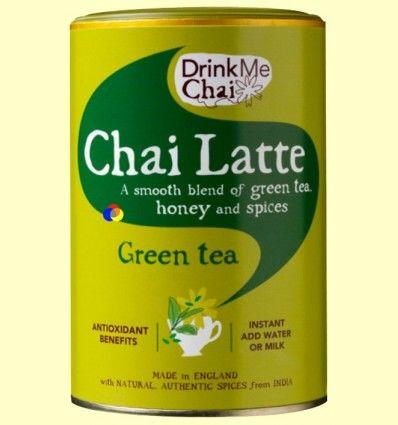 Chai Té Verde Soluble - Drink Me Chai - 250 gramos