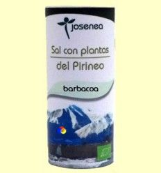 Sal con Plantas del Pirineo - Barbacoa - Josenea - 100 gramos