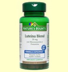 Luteína Blend 20 mg - Nature's Bounty - 30 cápsulas blandas