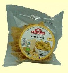 Chips de Maíz - Natursoy - 75 gramos