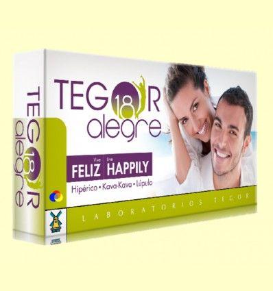 Tegor 18 Alegre - Laboratorios Tegor - 40 cápsulas