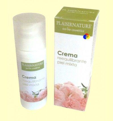 Crema Reequilibrante Piel Mixta - Plaisirnature - 50 ml