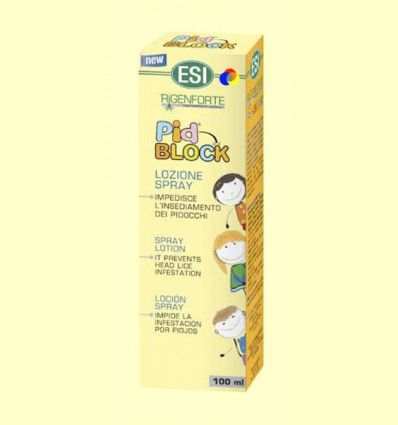 Pid Block Loción Spray - ESI - 100 ml