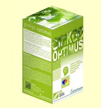 Ginkgo Optimus - Plameca - 30 cápsulas