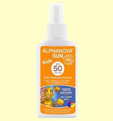 Protector Solar BIO SPF 50 Kids - Alphanova - 125 gramos