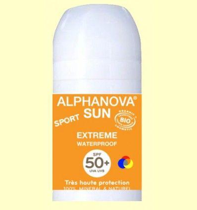 Protector Solar Roll-On Factor 50+ - Alphanova - 50 ml