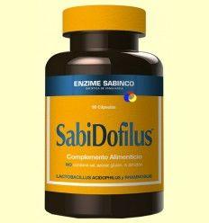 OFERTA-50% - Sabidofilus - Equilibrio intestinal - Enzime Sabinco - 60 cápsulas - CAD: 30-11-2017