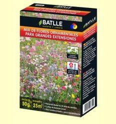 Kits de cultivo fácil Mix de Flores Profesional - Batlle