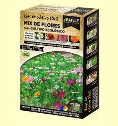 Kits de cultivo fácil Mix de Flores Cultivo Ecológico - Batlle
