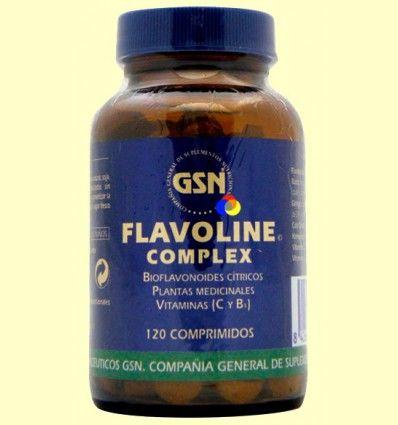 Flavoline Complex - GSN - 120 comprimidos