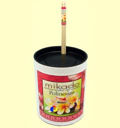 Mikado ambientador de varilas Polinesian Monoï de Tahití - Aromalia - 100 ml