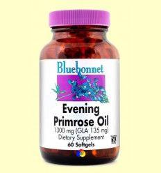 Aceite de Onagra 1300 mg - Bluebonnet - 60 cápsulas blandas