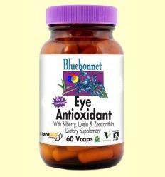 OFERTA-50% - Eye Antioxidant Formula - Bluebonnet - 60 cápsulas vegetales - CAD: 30-09-2017