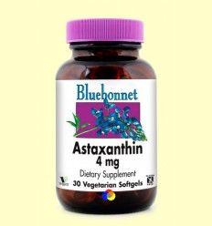 Astaxantina 4 mg - Bluebonnet - 30 cápsulas blandas vegetales ******