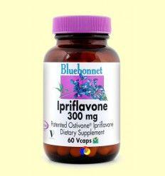Ipriflavona 300 mg - Bluebonnet - 60 cápsulas vegetales