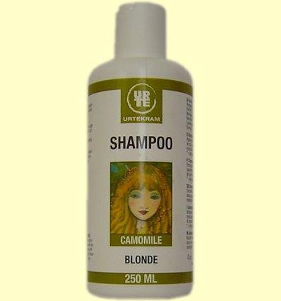 Shampoo Blonde A la Manzanilla de Urtekram