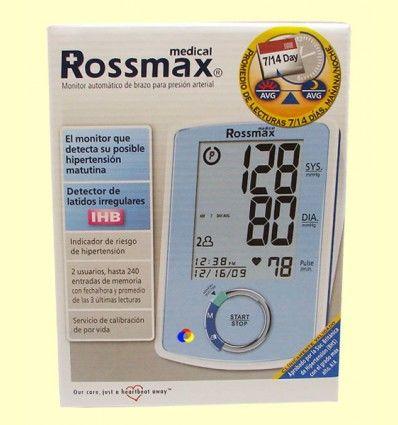 Monitor automático de brazo para presión arterial - Rossmax