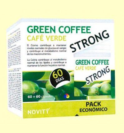 Green Coffee Strong Pack Económico - Café verde - Novity - 120 cápsulas