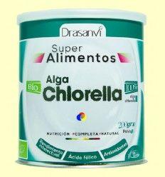 Alga Chlorella Bio - SuperAlimentos - Drasanvi - 200 gramos