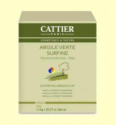 Arcilla Verde Superfina - Cattier - 1 kg