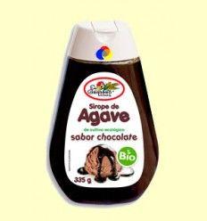 Sirope de Agave Bio - Sabor chocolate - El Granero - 335 gramos ******